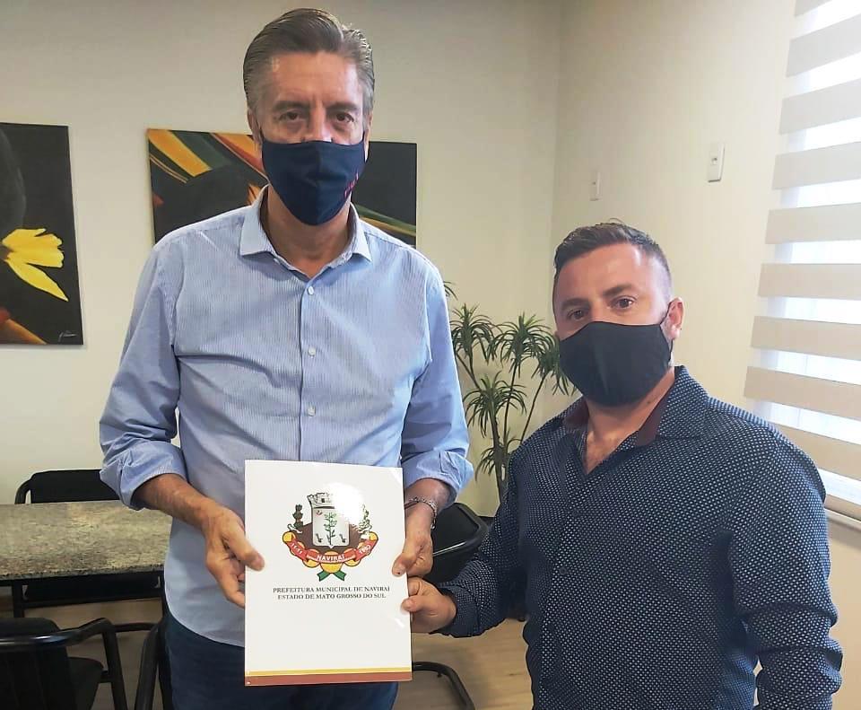 Hebert Rithyeli faz reivindicações ao deputado Dagoberto Nogueira