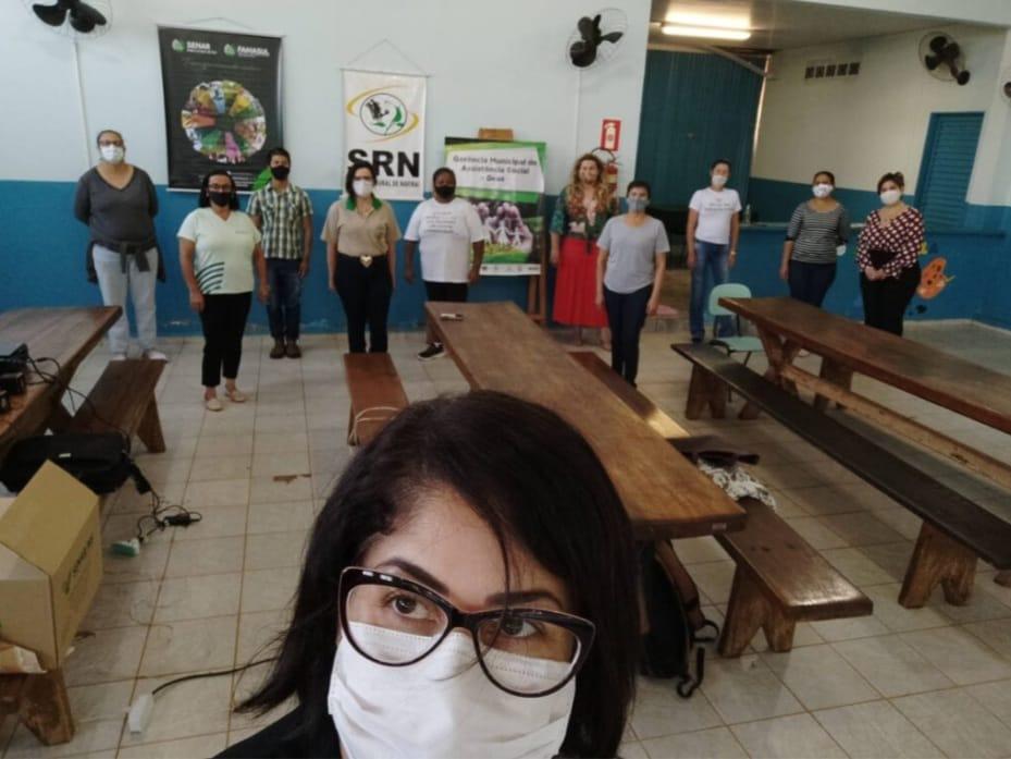 Assistência Social de Naviraí firma parcerias e oferece cursos de capacitação