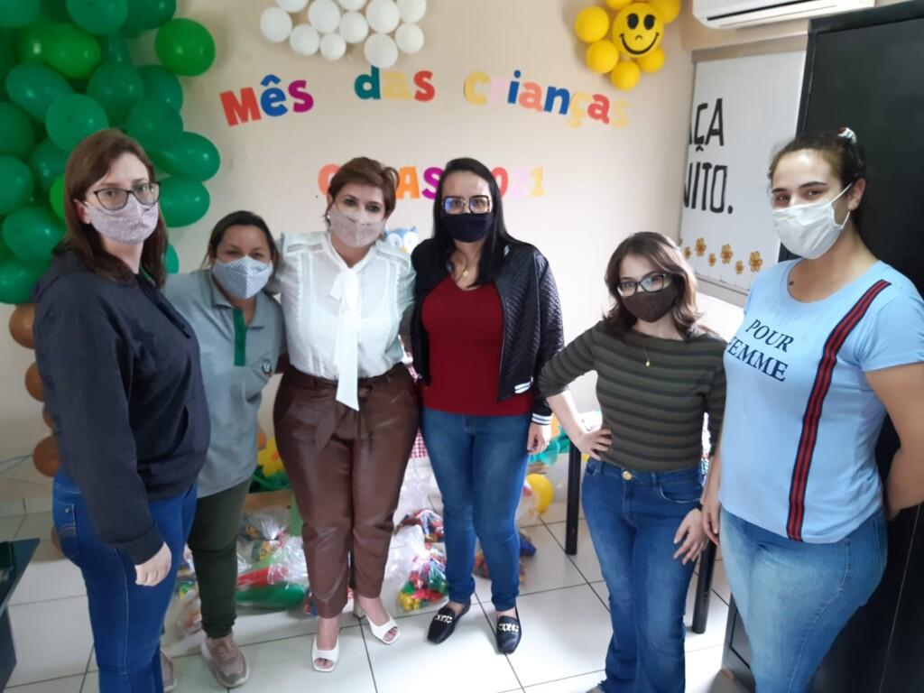 CREAS promove comemoração do Dia das Crianças às crianças assistidas pelo Município